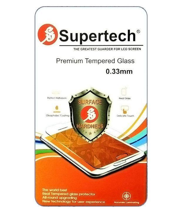 Samsung Galaxy Z3/Tizen Tempered Glass Screen Guard by SUPERTECH