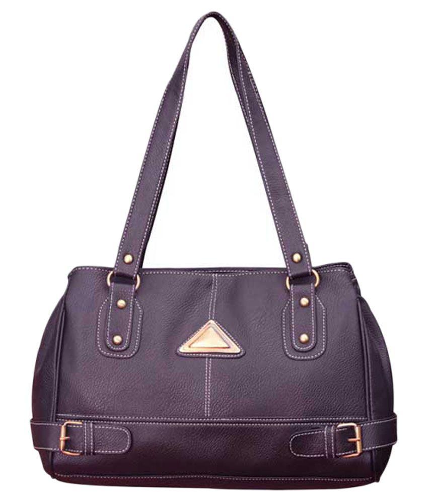 Best Deal Purple P.U. Shoulder Bag  Buy Best Deal Purple P.U. Shoulder Bag Online at