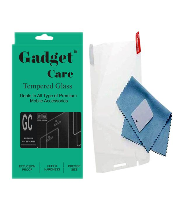 Sony Xperia C5 Tempered Glass Screen Guard by Gadget Care