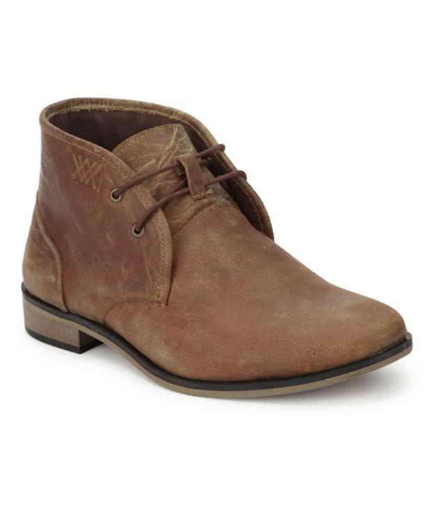 Aditi Wasan Tan Boots