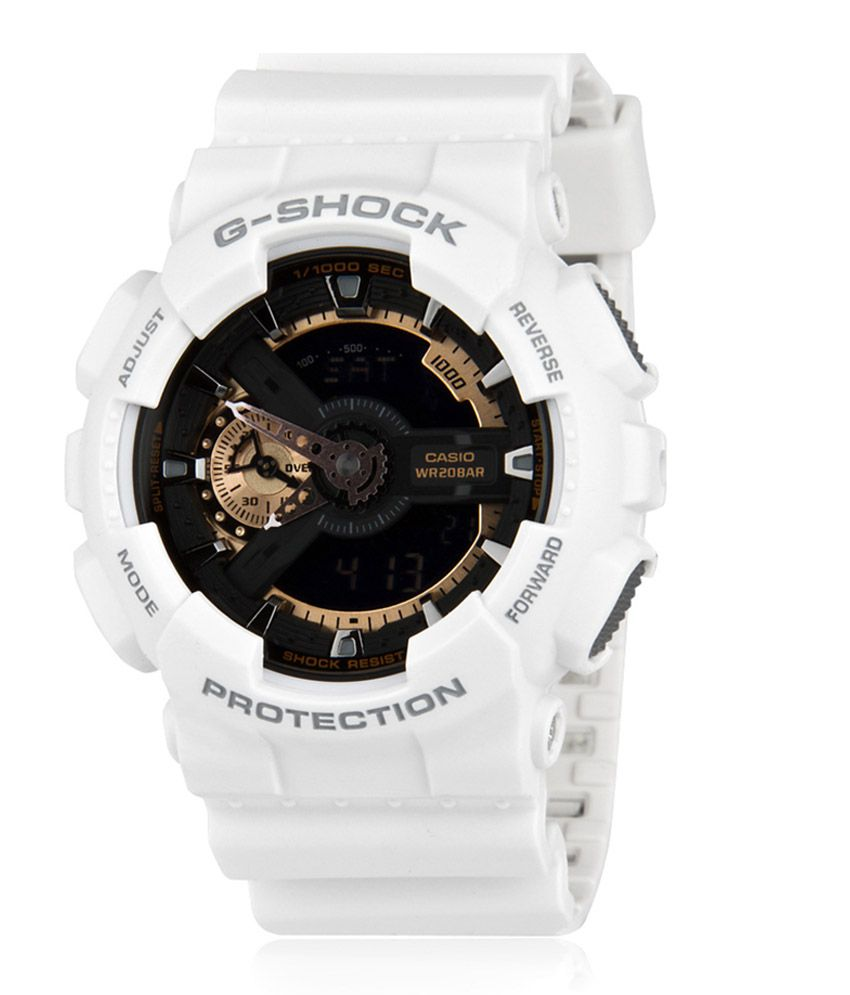 Casio G Shock Rose Gold Series Ga 110rg 7adr G398 Men S Watch