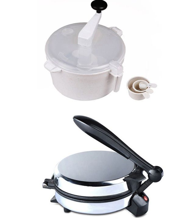 GTC Combo Of Eagle Detachable Rotimaker With Dough Maker
