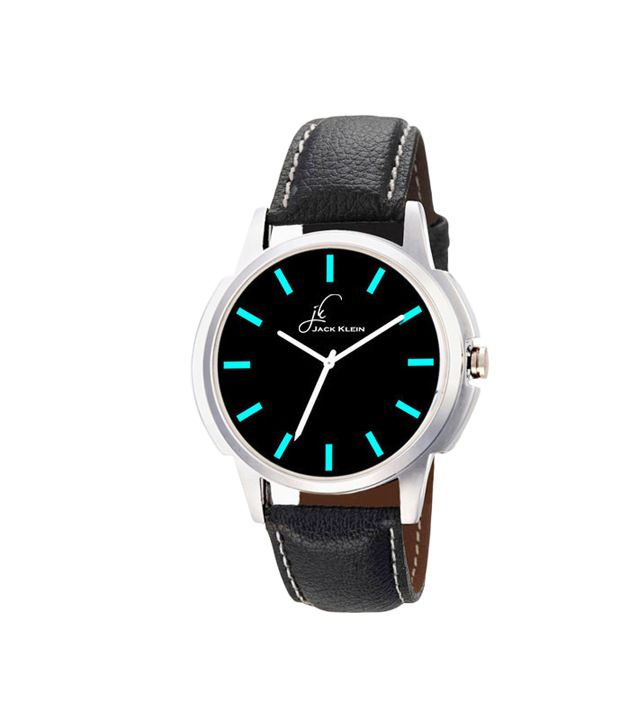 Jack Klein Jack Klein Synthetic Leather Analog Round Wrist Watch