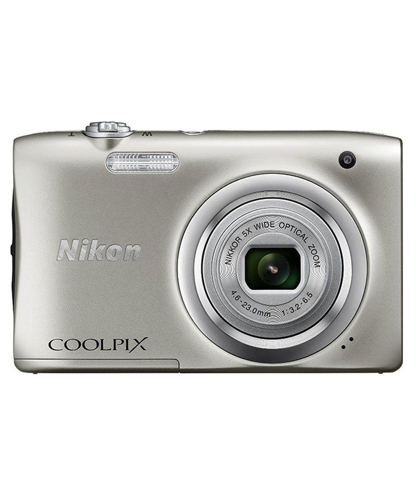 Nikon Coolpix A100 Point & Shoot Camera(Purple) Coolpix A100