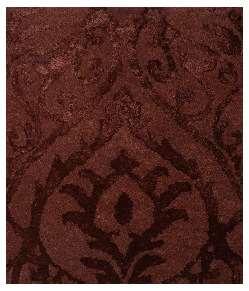 Rugs n more red and black floral woolen carpet buy rugs for Rugs rugs and more rugs