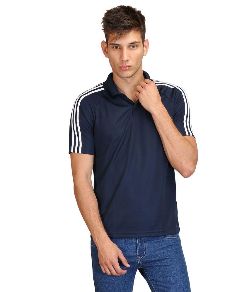 Adidas Navy Polo T-Shirts