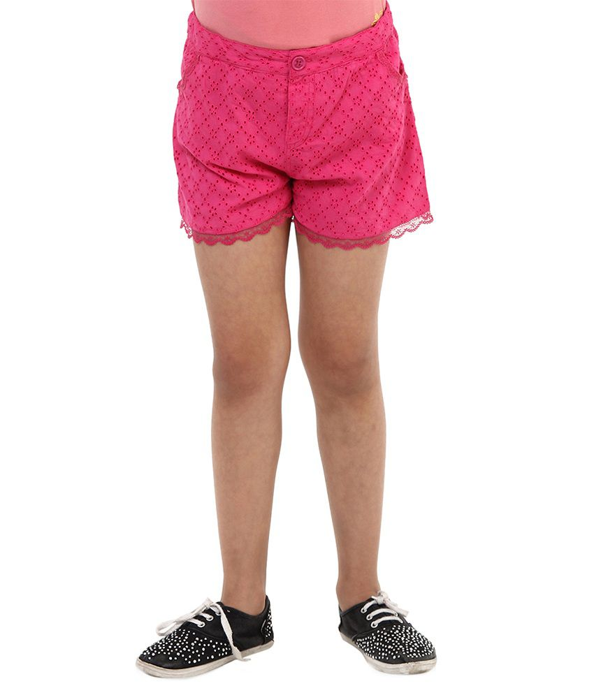 Oxolloxo Pink Shorts