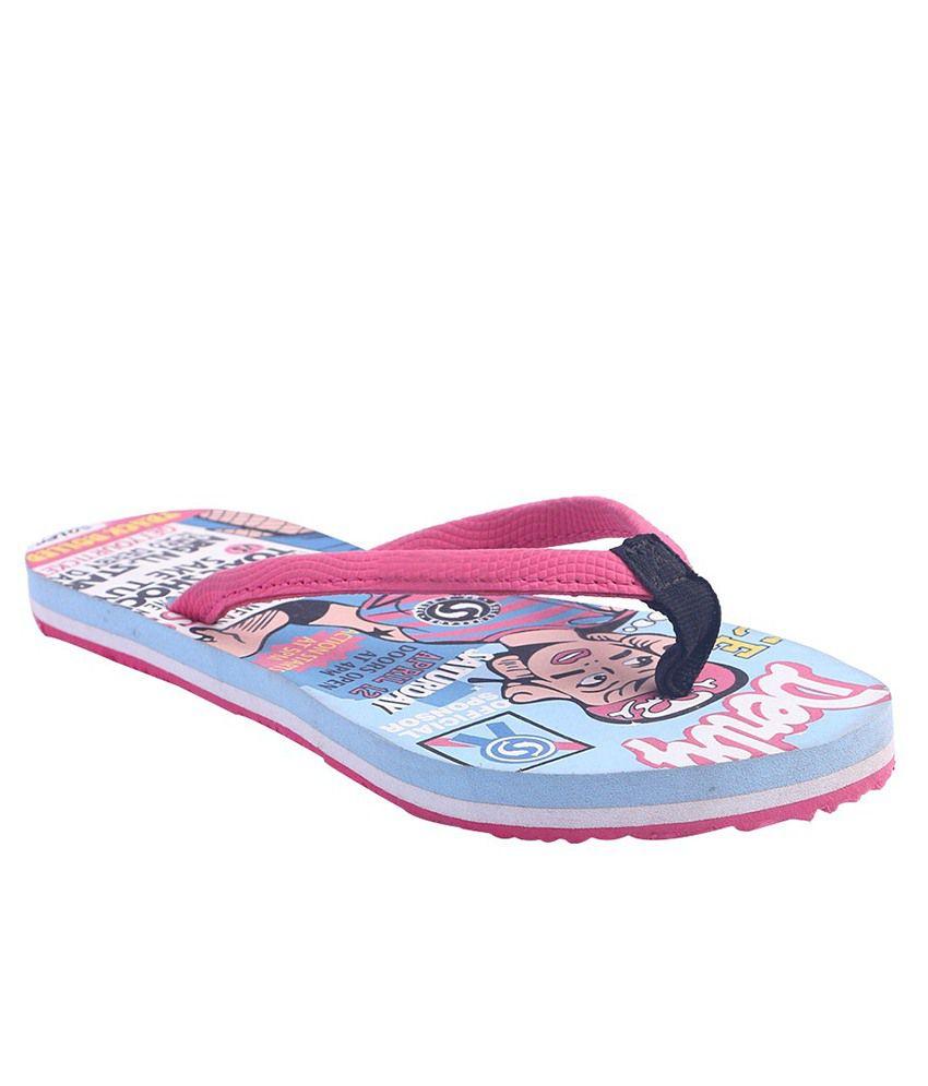 Pantof Pink Slippers & Flip Flops