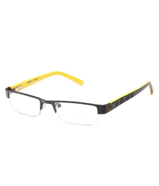 Specky Black Rectangle Spectacle Frame