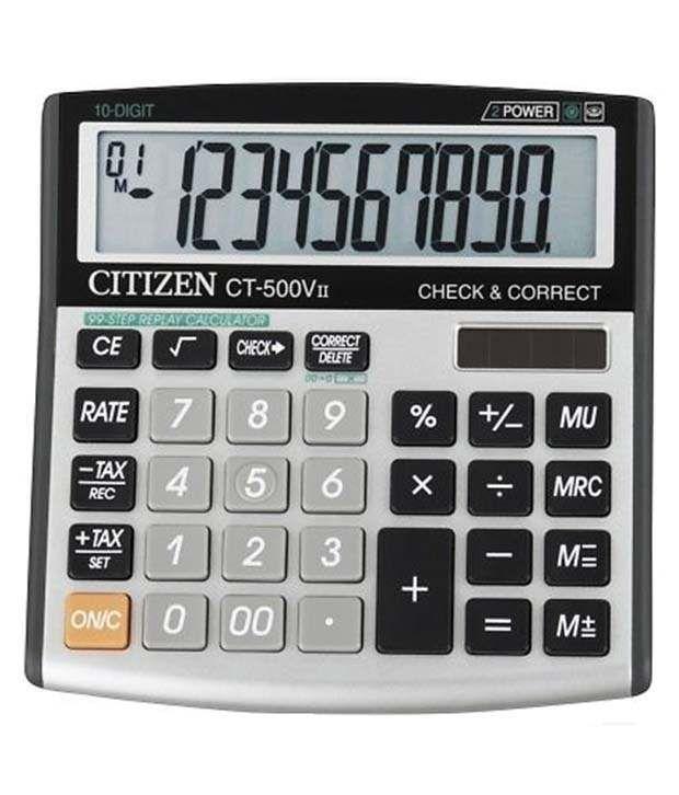 Citizen CT-500V II Basic Calculator