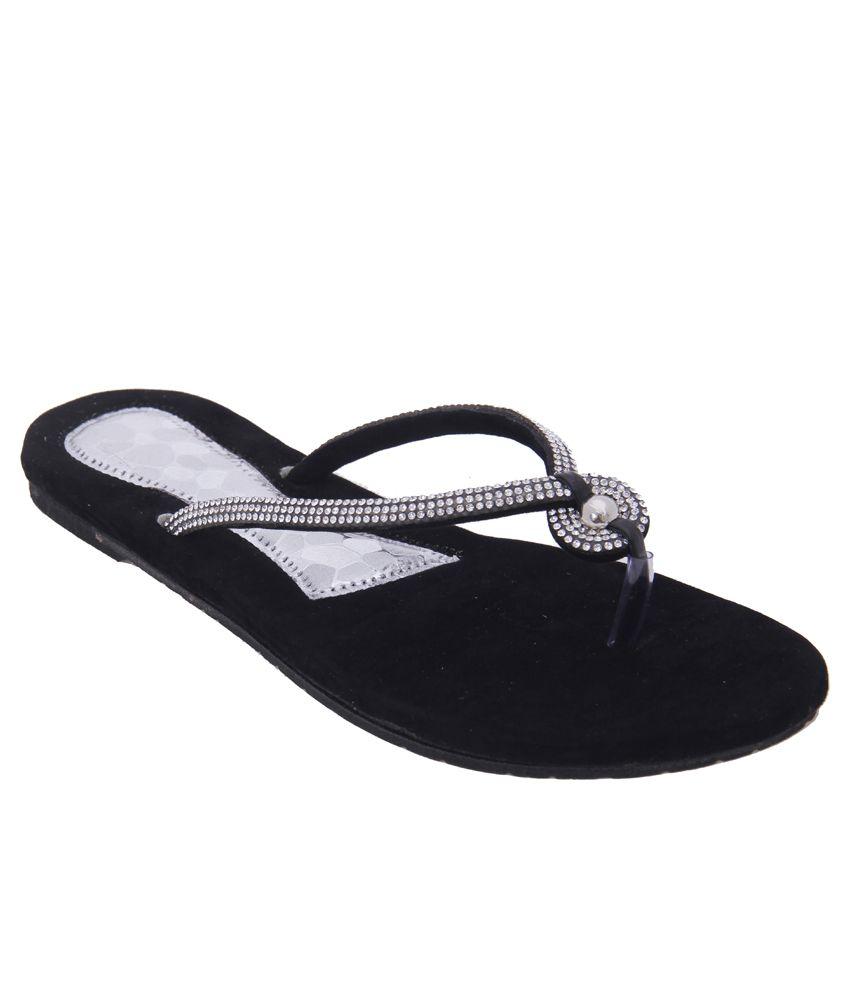 Foot Frick Black Flats