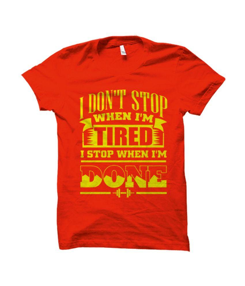 Funatic Sports Funidontstop Red T-Shirt