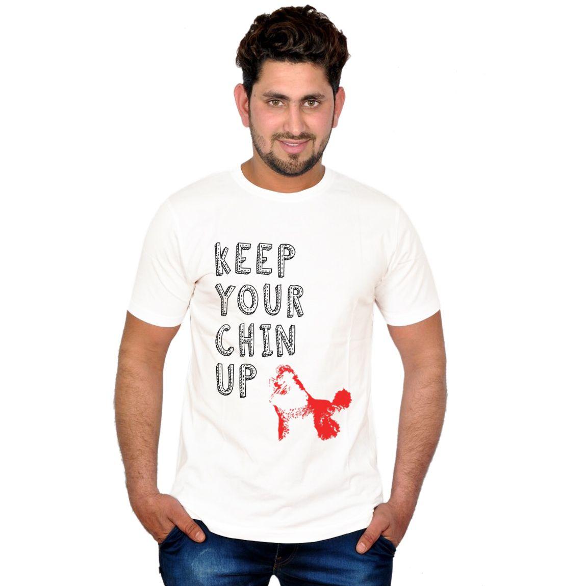 Inkit White Round T Shirts
