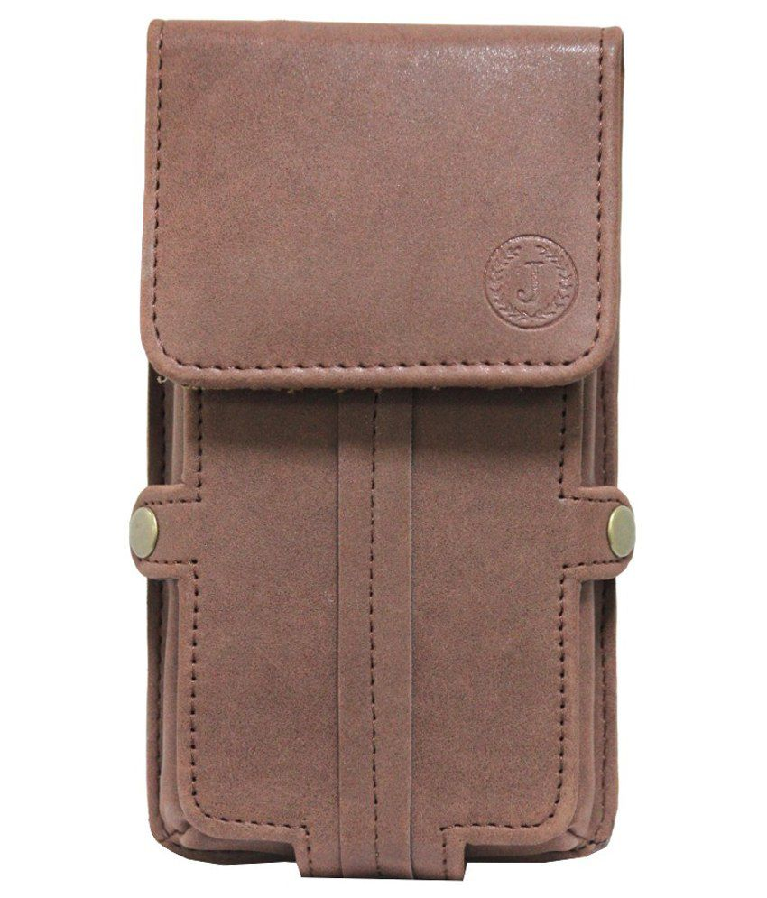 Jo Jo Holster Pouch for Infocus M370i (2GB RAM, 16GB) - Brown