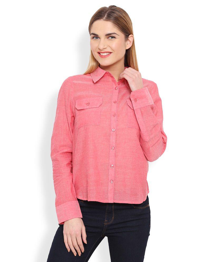 Anasazi Pink Cotton Shirts