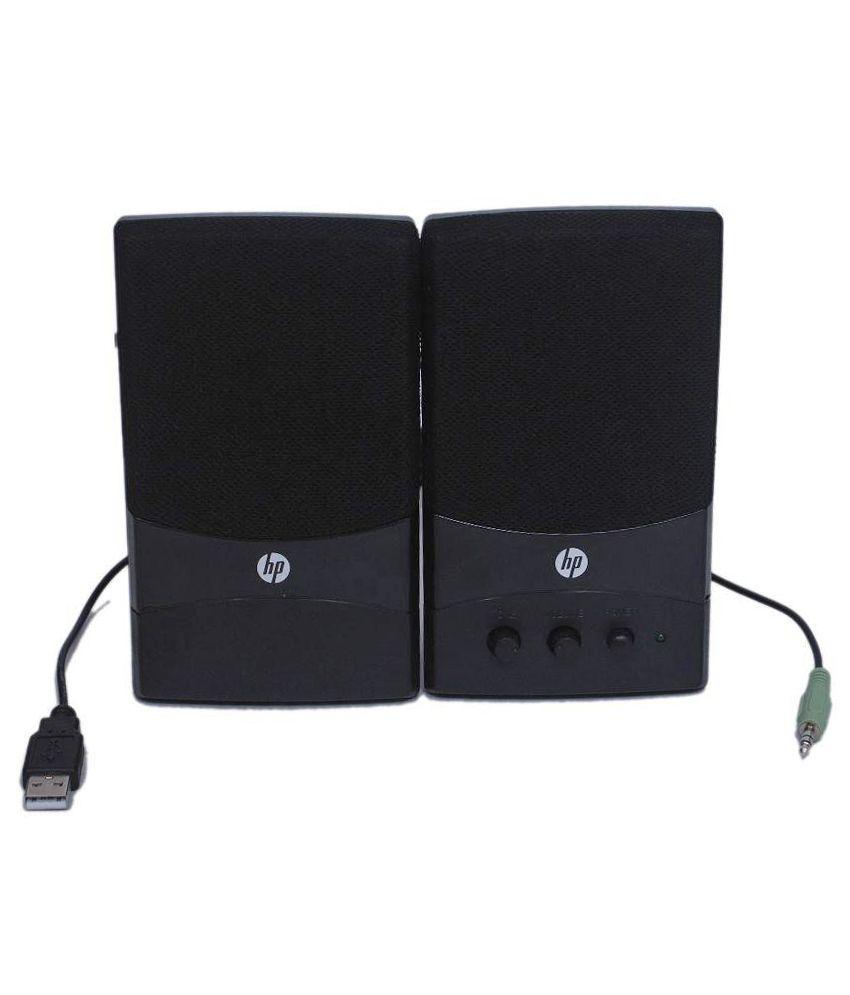 HP GL313AA 2.0 Speakers - Black