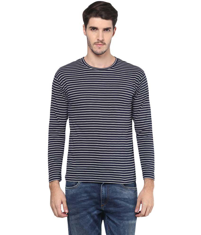 Hypernation Blue Round T Shirts