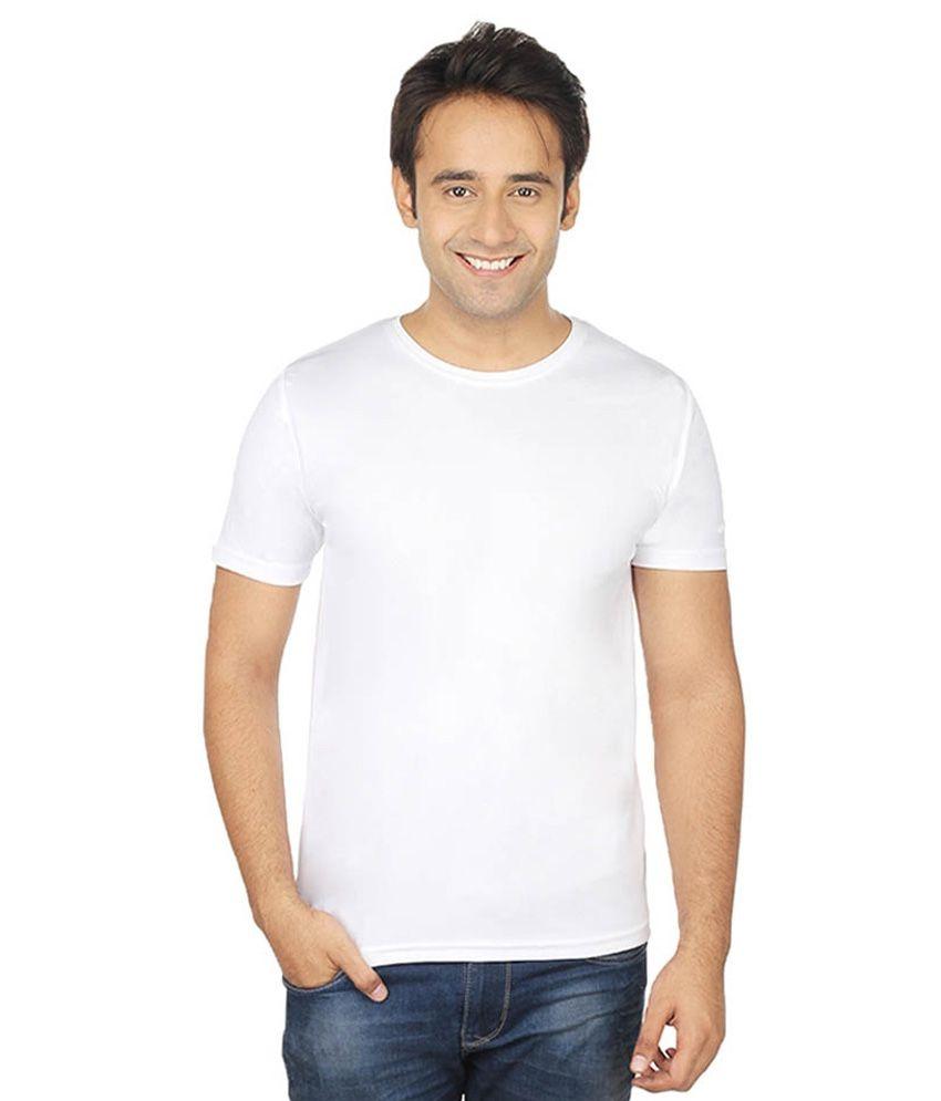 MKM White Round T Shirts