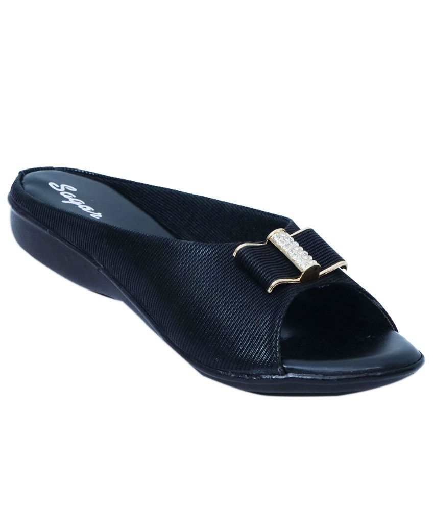 Sagar Footwear Black Flats