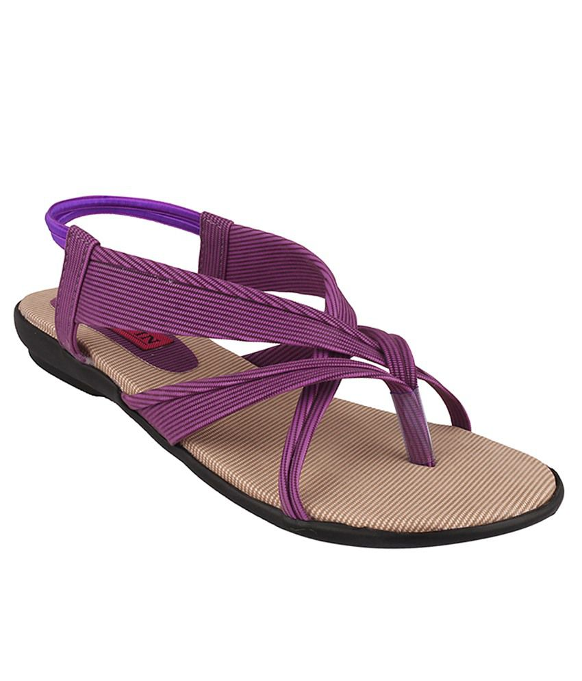 Trewfin Purple Flats