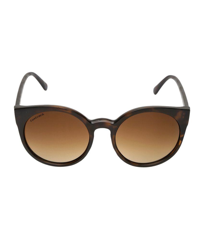c4939f2500 Fastrack Brown Oval Sunglasses - Buy Fastrack Brown Oval Sunglasses Online  at Low Price - Snapdeal