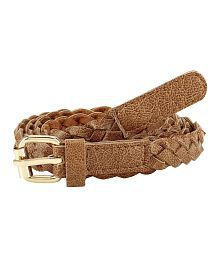 Jainsons Brown Leather Casual Belts
