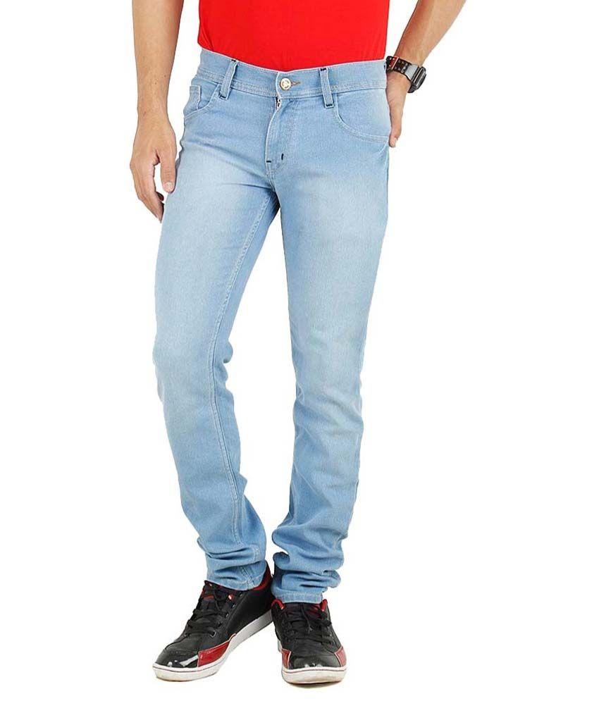Ansh Fashion Wear Fashion Wear Black Regular Fit Faded Jeans