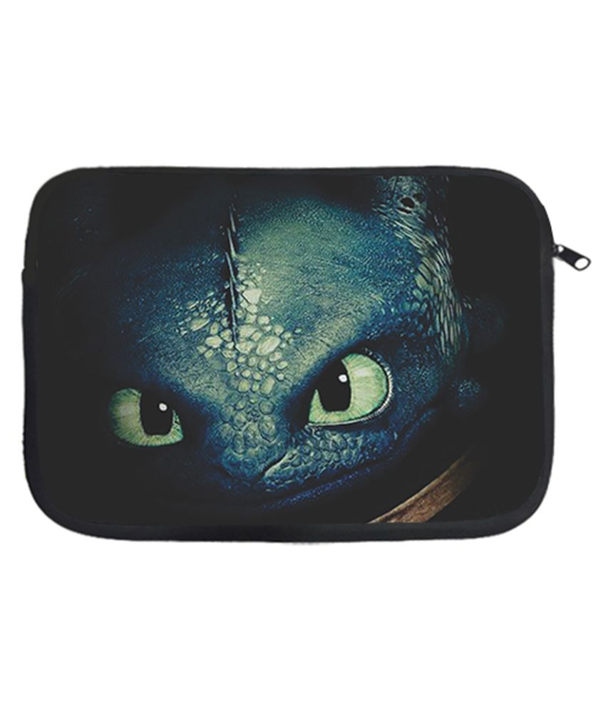Design Worlds Polyester Eyed 13 Inch Laptop Sleeve - Multicolor