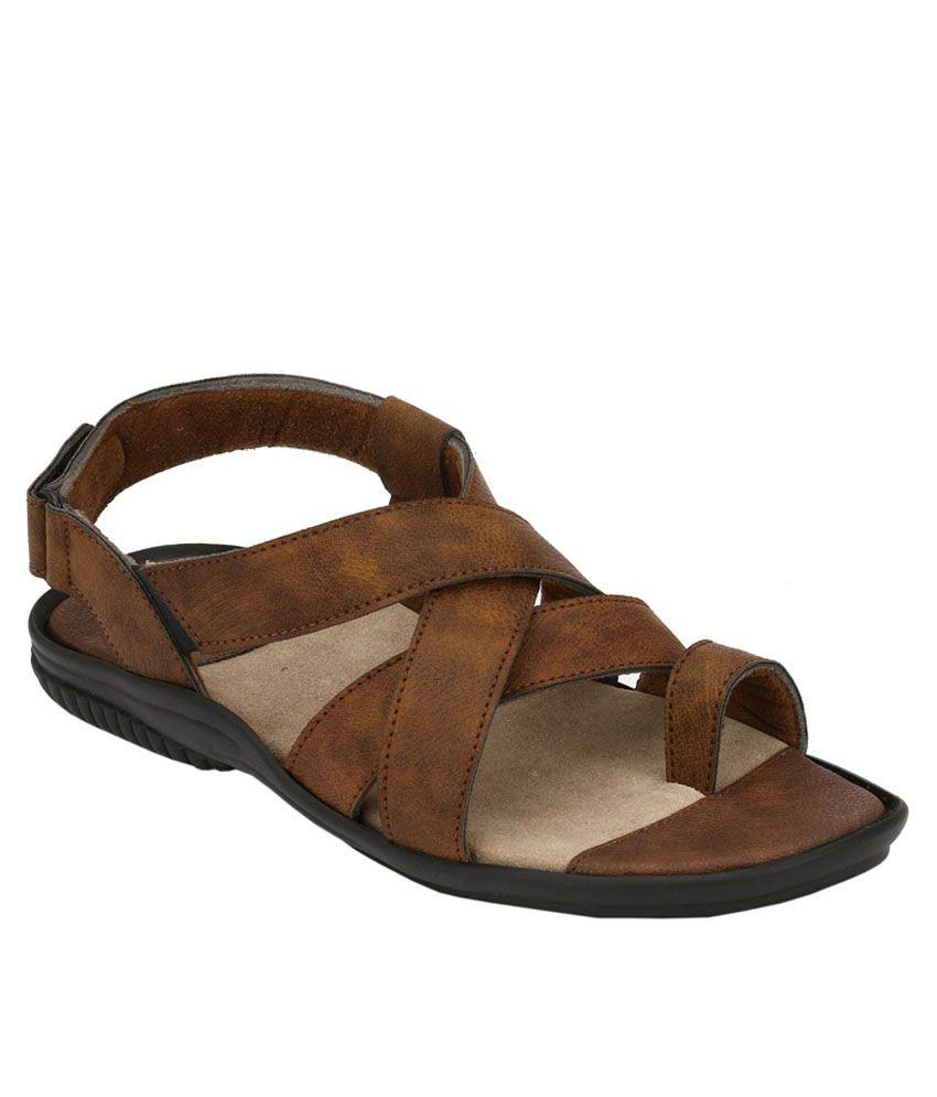 23f0c696fe0b8 Leeport Khaki Sandals Price in India- Buy Leeport Khaki Sandals ...