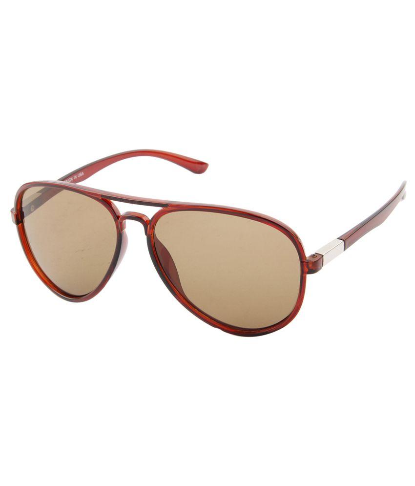 Aten Clear Aviator Sunglasses