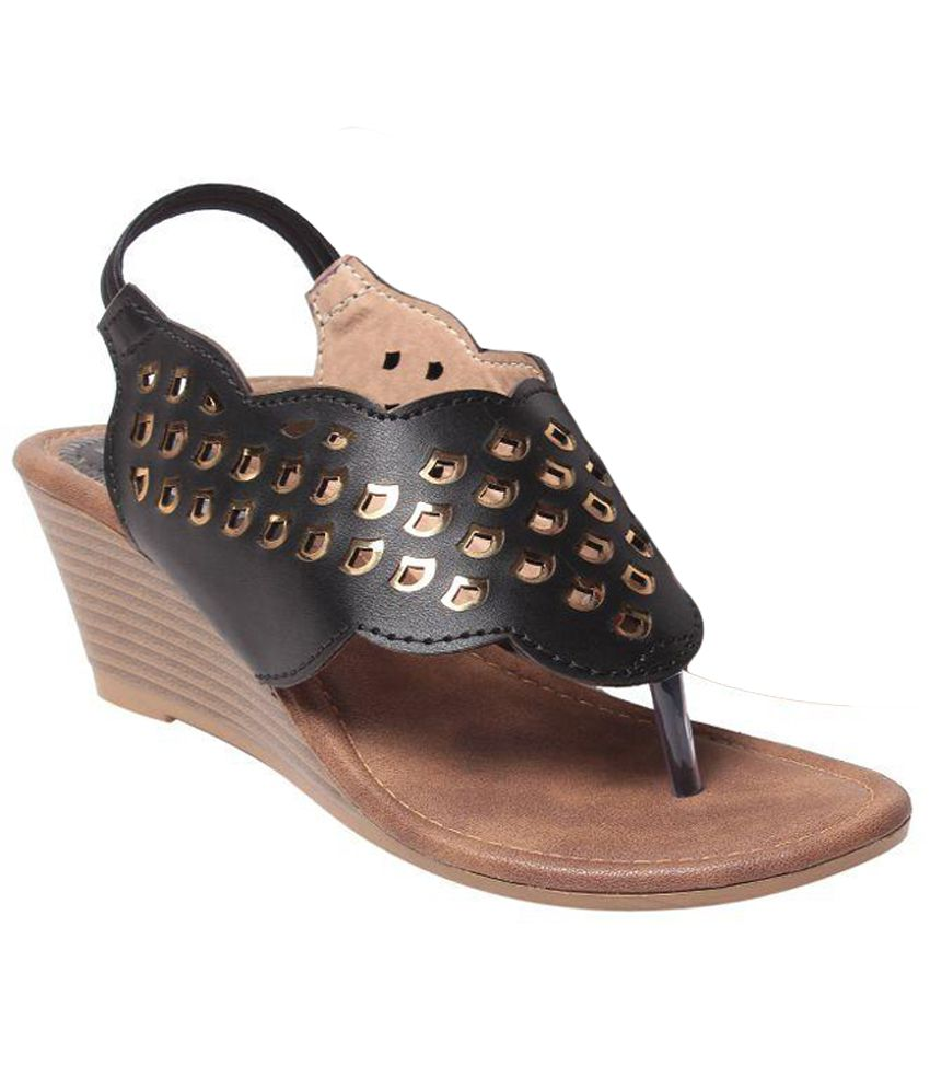 Femitaly Brown Wedges Heels