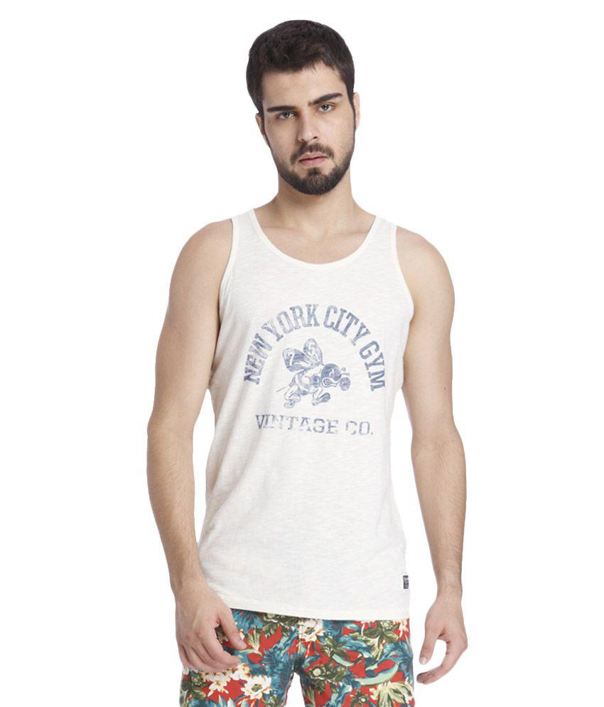 Jack & Jones White T-Shirt