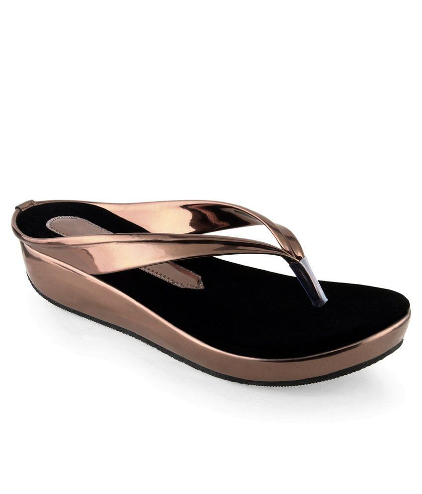 Shoe Lab Brown Ethnic Footwear
