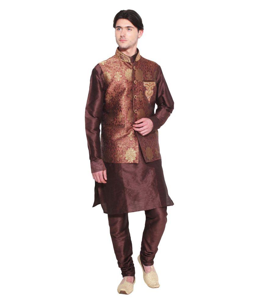 Favoroski Brown festive Waistcoats