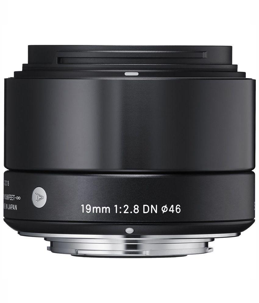 Sigma Black 19mm F/2.8 EX DN Micro For Sony E-Mount