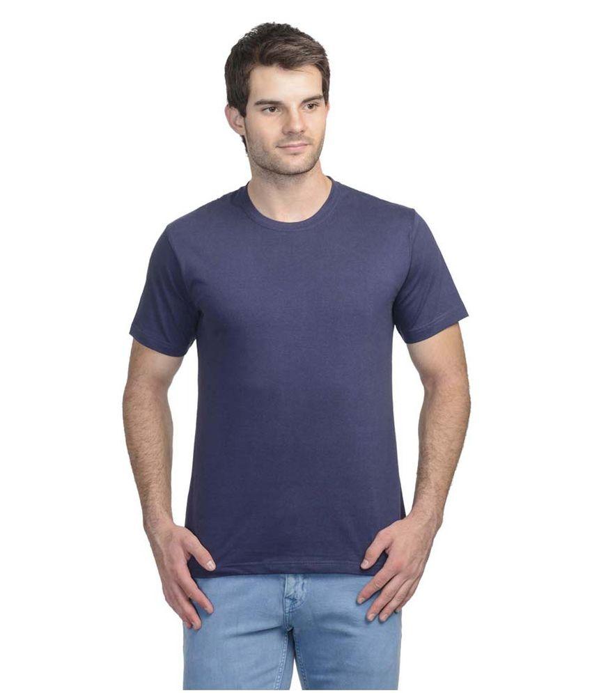 Tom Joe Navy Round T Shirts