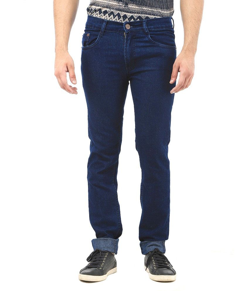 AVE Fashion Wear Blue Regular Fit Jeans