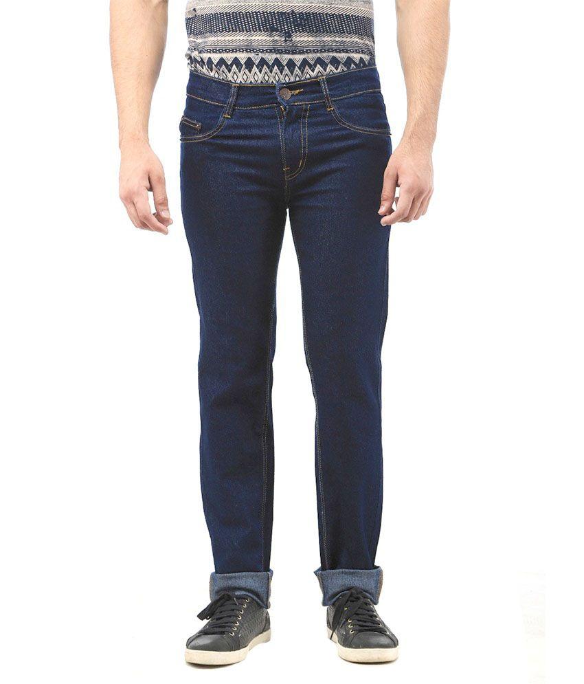 AVE Fashion Wear Blue Regular Fit Jeans