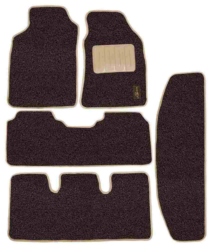 Floor mats for xuv500 - Leganza Car Foot Mats For Mahindra Xuv500 Brown