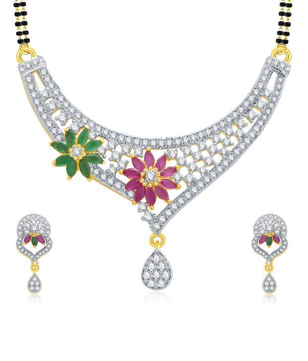 Pissara Golden Alloy Mangalsutra Set