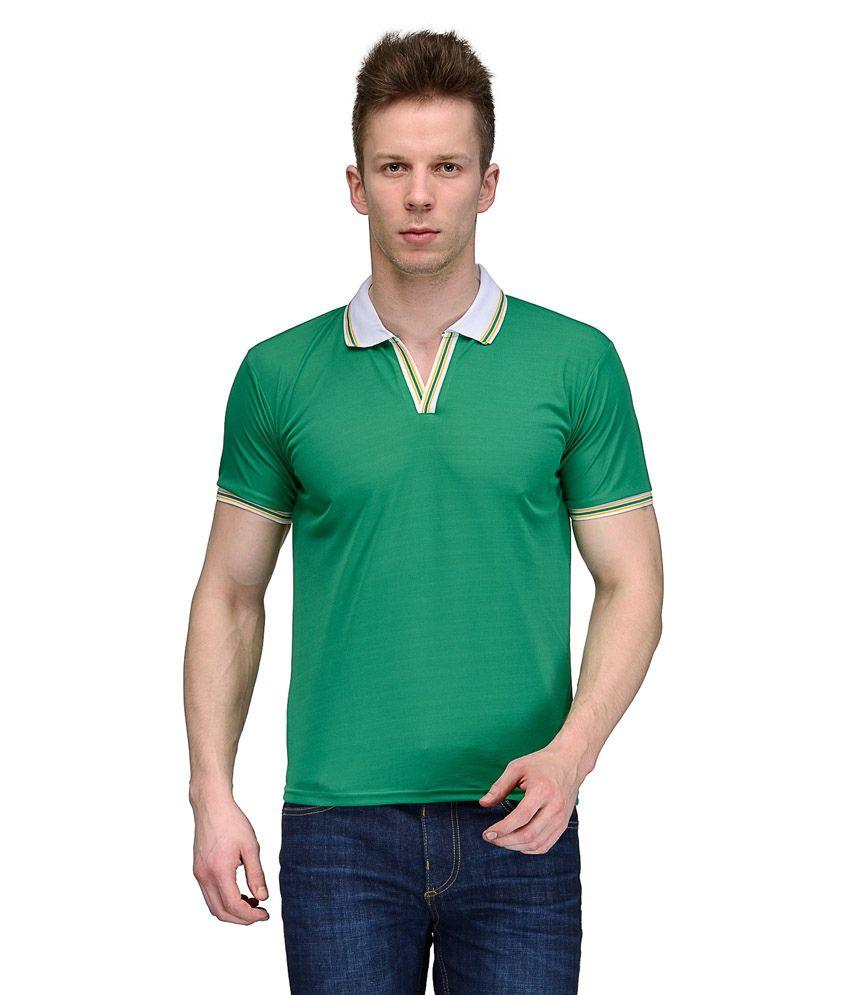 Rico Sordi Green Polo T Shirts