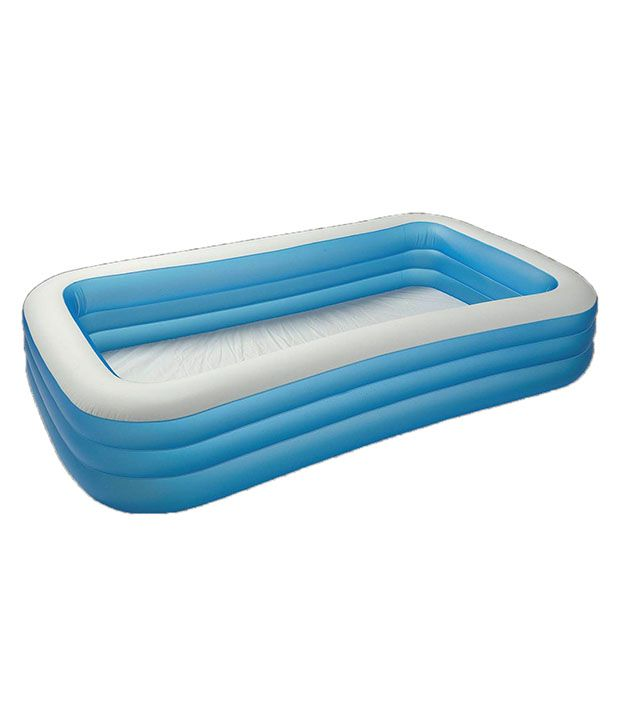 Gousia Blue Rubber Swimming Pool For Kids: Buy Online at Best Price ...