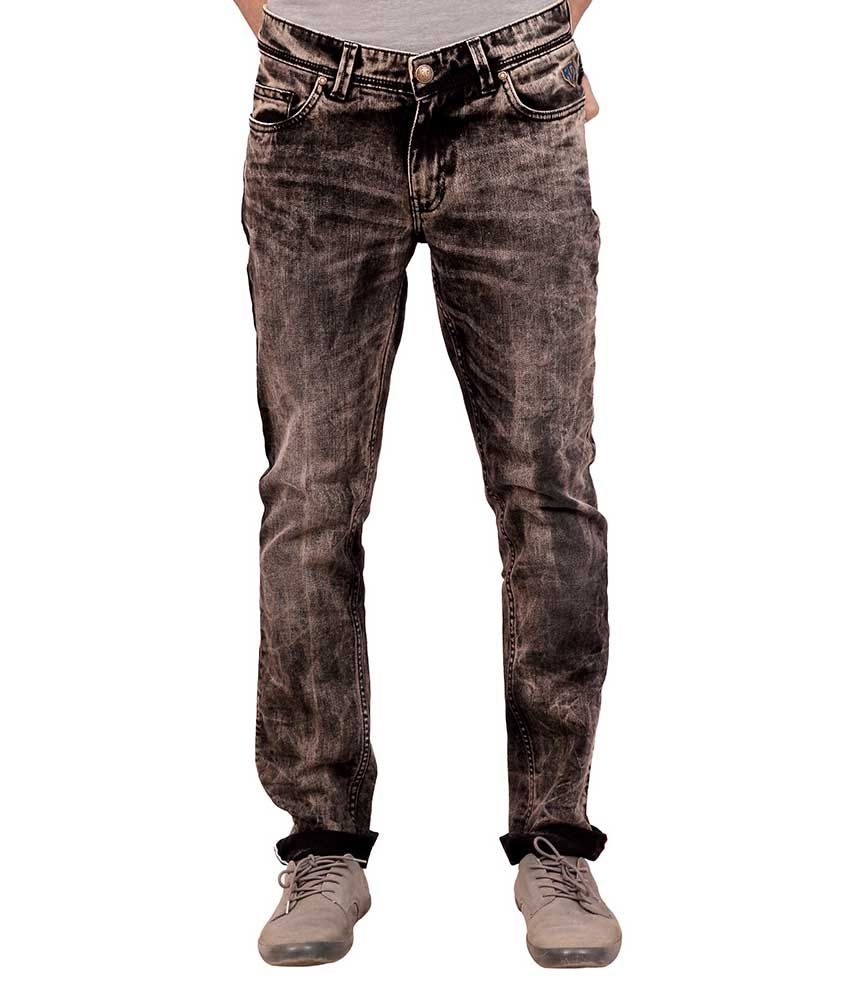 Insanely Great Retails Private Limited Black Regular Fit Jeans No