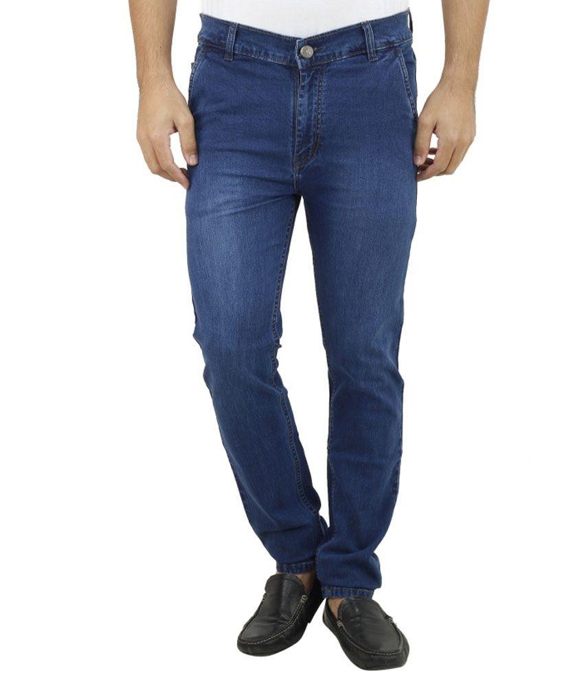 Savon Blue Slim Fit Jeans Pack of 2