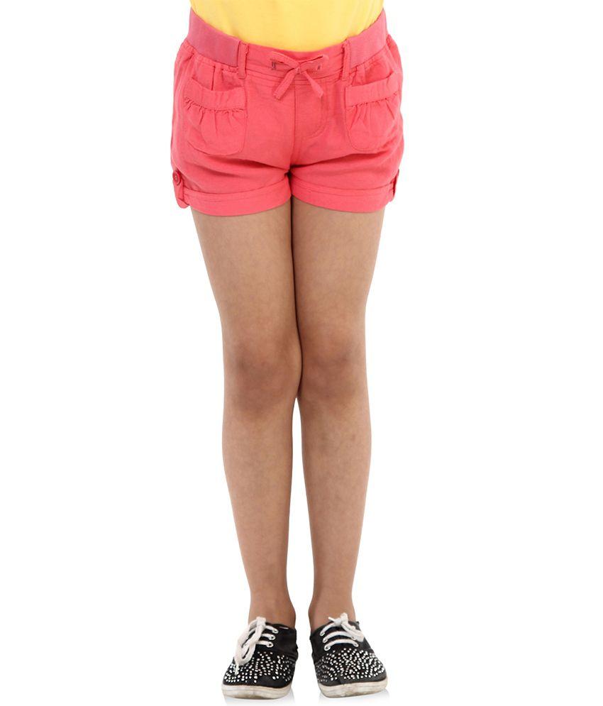 Oxolloxo Pink Viscose Shorts