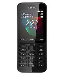 Nokia 222 DS Below 256 MB Black