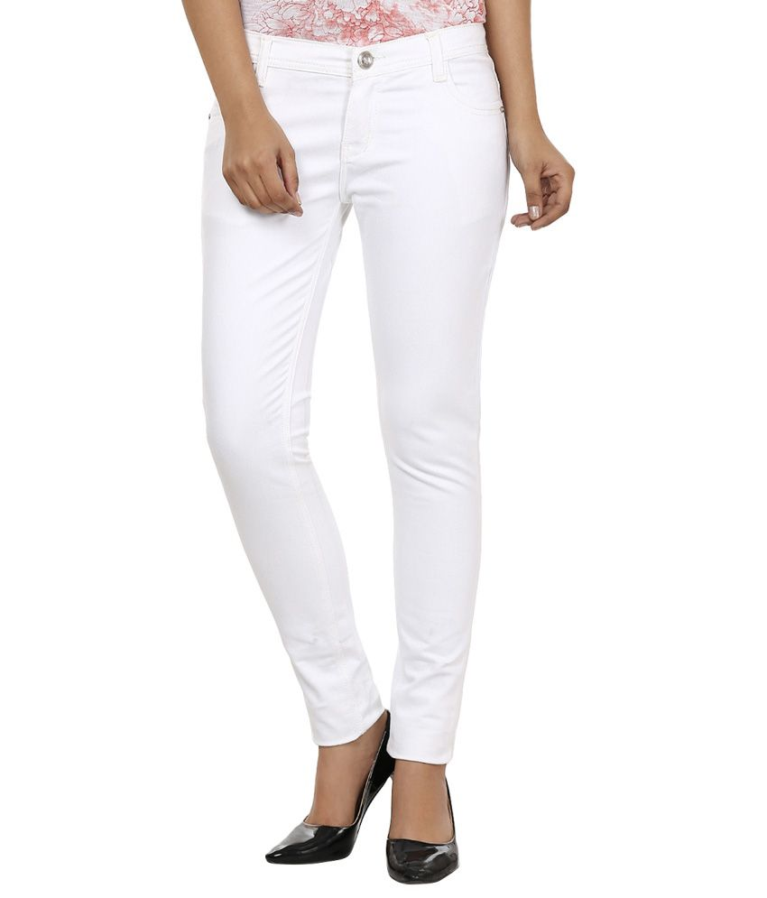 Golden-Cloud-White-Denim-Jeans