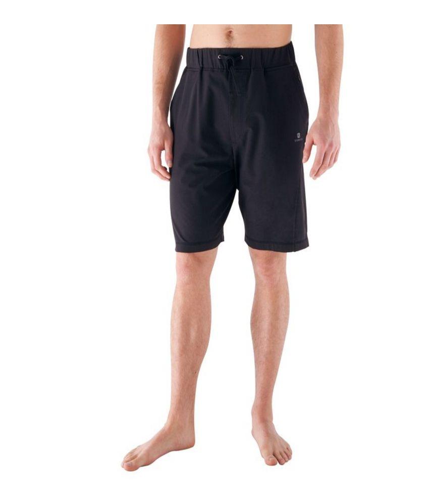 DOMYOS Actizen Woven Men's Yoga Shorts By Decathlon