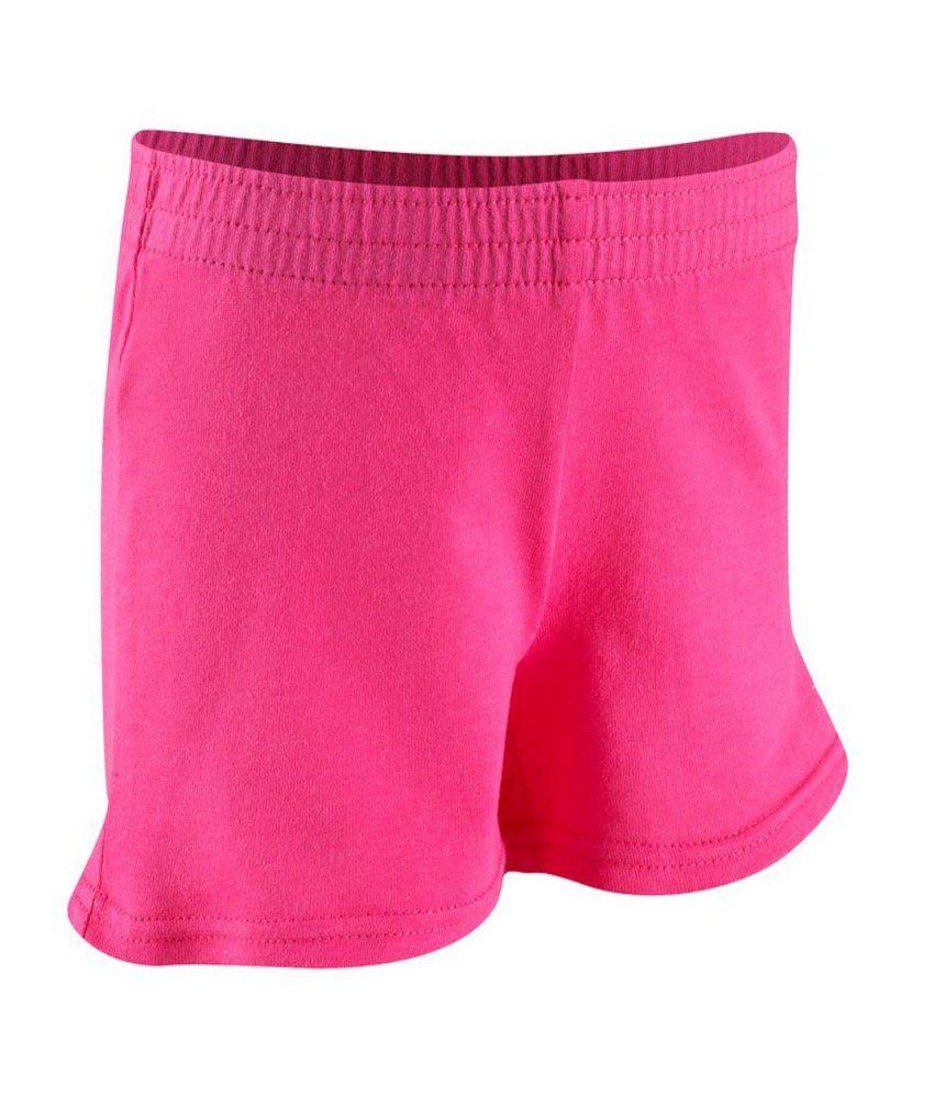 DOMYOS Basic Kids Fitness Shorts By Decathlon
