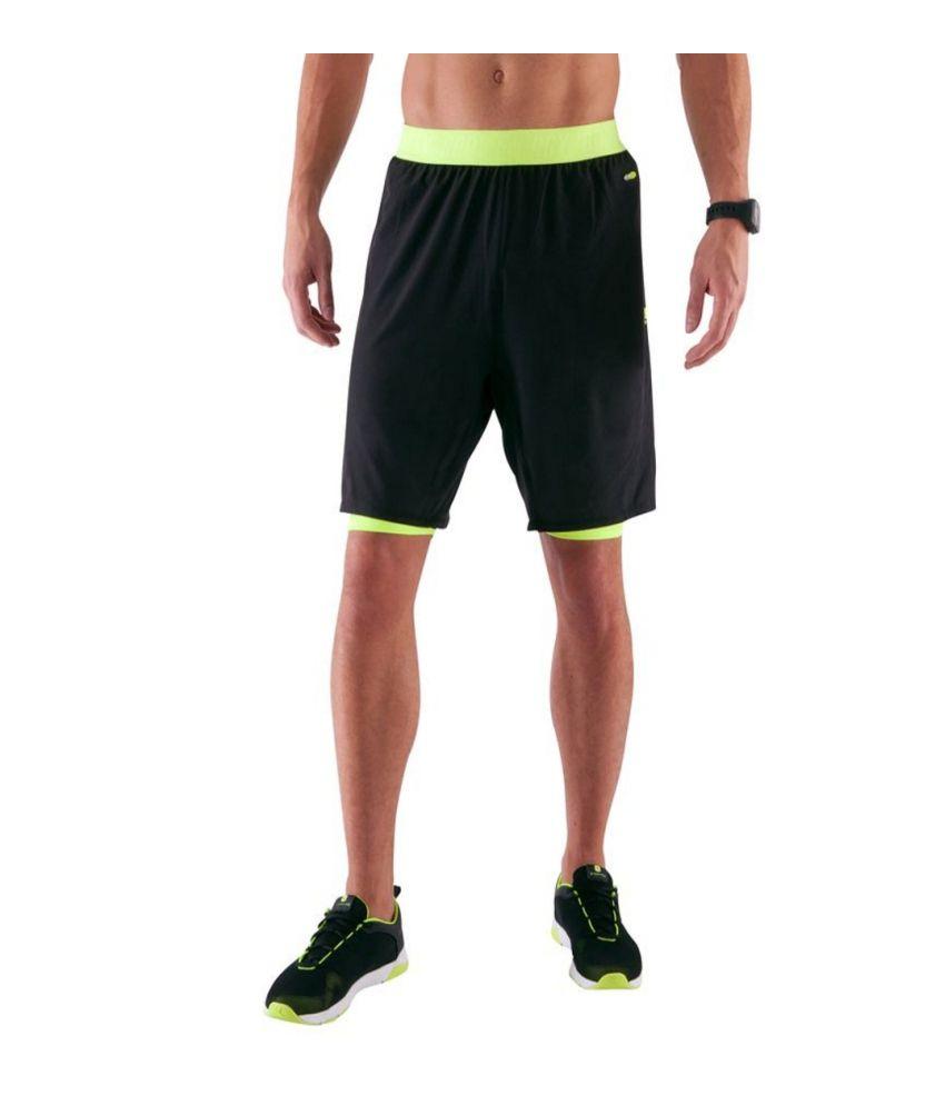 DOMYOS Breathe Booster Sht C Men's Cardio Shorts By Decathlon